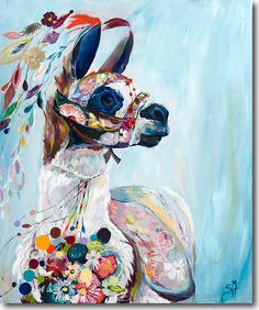 Alpaca Love - SkylineArtEditions.com