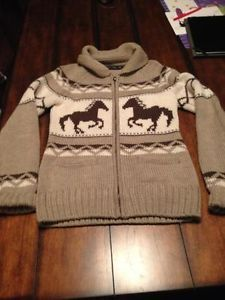 horse cowichan sweater, still trying to find this!! Gotta head to lammles!