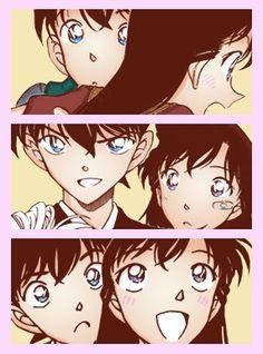 Ran And Shinichi, Kudo Shinichi, Detective Conan Wallpapers, Love Run, Silver Bullet, Magic Kaito, Yang Yang, Cartoon Characters, Manga Anime