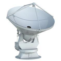 3D Model Radio Telescope | obj fbx lxo max lwo dae dxf - 3D Squirrel
