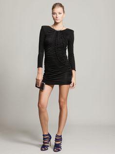 Jersey Knit Shirred Dress by Emilio Pucci on Gilt.com