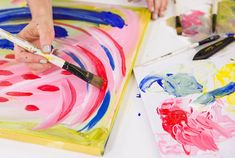 Learn how to set up a palette, blend colors, prep a canvas, and add depth to your artwork.