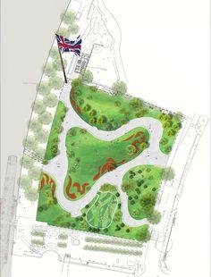 Jubilee Gardens | London UK | West 8 | UPDATE « World Landscape Architecture – landscape architecture webzine