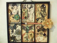 Steampunk Deb and 7 Gypsies Frame by primitiveseasons - Cards and Paper Crafts at Splitcoaststampers