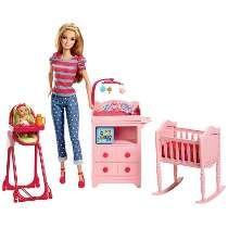 Boneca Barbie Berçario Bll72 Mattel C/ Nf