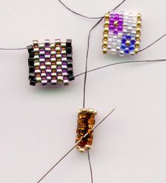 Bitty Beaded Bead explanation--not really tutorial, but if you peyote, it will be easy.