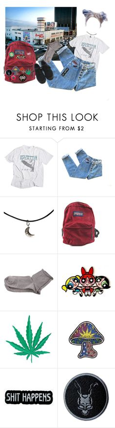 """Amoeba"" by perfectjackbgg ❤ liked on Polyvore featuring JanSport, Polder, Retrò, Paul Frank, records, amoeba, vinyls and recordstore"