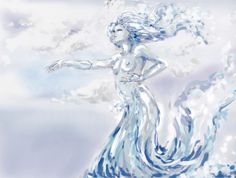 Nereid by Lady-Nihonto. Tags: In Greek mythology, the Nereids are sea nymphs (female spirits of sea waters), the fifty daughters of Nereus and Doris, sisters to Nerites. They were distinct from the mermaid-like Sirens. They often accompany Poseidon, the god of the sea, and can be friendly and helpful to sailors fighting perilous storms. Tags: nereids, sea nymphs, children of titans,