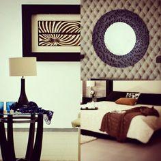 Cuadros, lamparas, espejos y edredones #muebles #decoracion #diseño #accesorios