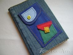 caderno feltro - Pesquisa Google