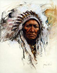 Native American Indian BROWN Harley W. - Sitting Bull