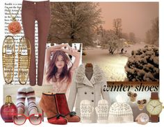 """""""Winter Boot Up"""" by gregory-joseph on Polyvore"""