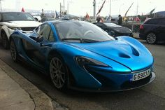 Two privately owned McLaren P1 supercars have been spotted in Geneva ahead of the 2014 motor show.