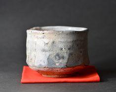 美濃粉引茶碗「林隆一郎」