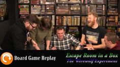 (VIDEO) Escape Room in a Box - The Werewolf Experiment (No Spoilers) Running Time: 16:25