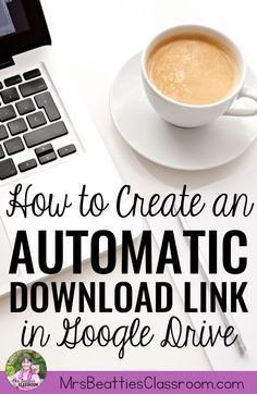 Are you a blogger sharing digital goodies, or a teacher wanting to make assigning digital resources to your students a little simpler? This tip is for you! I'm sharing step-by-step instructions for creating an automatic download link to a Google Drive res