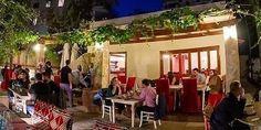 Τρώμε τέλειους πολίτικους μεζέδες σε τραπεζάκια έξω | My Review Outdoor Decor, Athens, Home Decor, Decoration Home, Room Decor, Home Interior Design, Athens Greece, Home Decoration, Interior Design