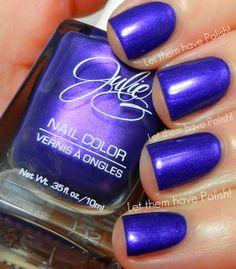 Julie G Nail Colour in Royal Rebel