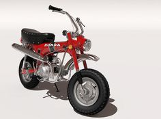 Honda CT70 mini trail bike | Flickr - Photo Sharing!
