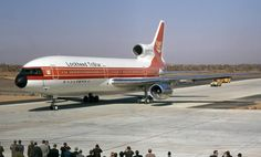 This Day in Aviation History November 1970 First flight of the Lockheed TriStar. Rolls Royce Engines, Plane Photos, Old Planes, Airplane Photography, Commercial Aircraft, Wide Body, Boeing 747, Airplanes, Vintage Airline