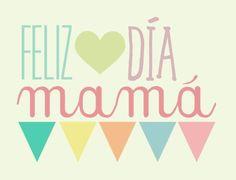 cartel felicidades mama - Buscar con Google