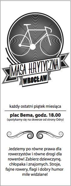 Critical Mass Wroclaw!