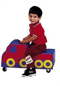 Another great riding toy to really work on those gross motor skills!