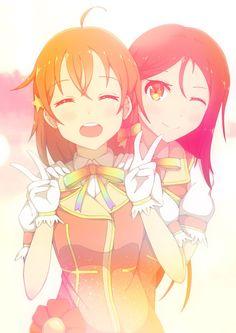 Love live sunshine Chika and Riko