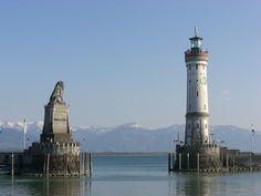 Lindau Lighthouse ~ Lake Constance ~ Germany