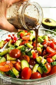 Best Gluten Free Recipes, New Recipes, Salad Recipes, Vegetarian Recipes, Cooking Recipes, Healthy Recipes, Cucumber Tomato Salad, Egg Salad, Smoothie