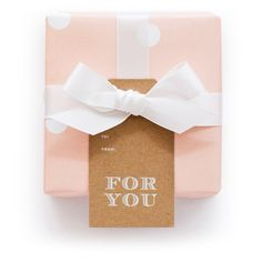 For You Gift Tag | Sugar Paper Los Angeles