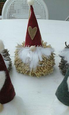 ❤fatto da me❤ #gnomonatalizio #pompon #Natale #decorazioni
