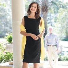 The perfect versatile black dress: Women's Getaway Shift Dress