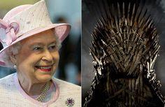 Rainha Elizabeth II é fã de Game of Thrones e vai conhecer o Trono de Ferro