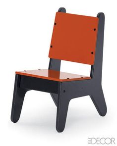 Painted BB2 Chair by Notneutral, from ElleDecor.com