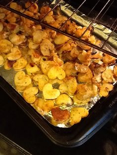 Valentine's Day - Heart'y Oven Roasted Potatoes. These are just cute! Nice side dish for that special Valentine dinner.