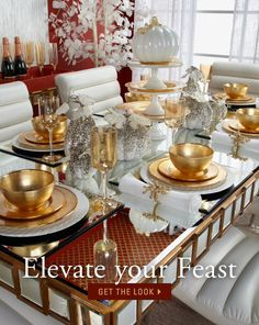Thanksgiving dining decor