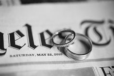 This is a neat idea using the paper to showcase the date