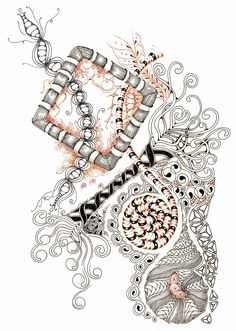 Shelly Beauch: The Beauty of Zentangle