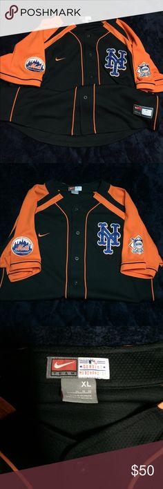 Mets Nike Shirt NWOT NY Mets Nike Shirt NWOT. NEW YORK METS. MLB. NIKE. SPORTS. JERSEY. TEAM Nike Shirts