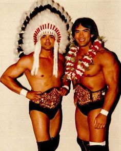 Ricky Steamboat And Jay Youngblood