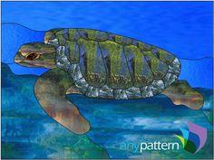Sea Turtle - 24 x 18