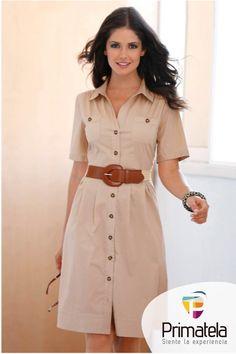 Porque la moda no incomoda, y menos si estamos hablando de los vestidos camiseros, una prenda que va bien en todo momento . http://bit.ly/1TR8qES