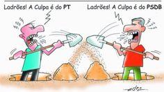 Brasileiro discutindo política!
