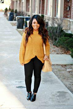 My Voguish Diaries | A Toronto Personal Style Blog: black + mustard