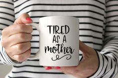 Tired As a Mother Raising Arrows Bible Verse Coffee Mug Decal Vinyl Decal DIY Mom Life Mama Bear Shirt Tribe Raising My Tribe Boss Lady SVG Cut File • Cricut • Silhouette Vector • Calligraphy • Download File • Cricut • Silhouette Cricut projects - cricut ideas - cricut explore - silhouette cameo By Kristin Amanda Designs