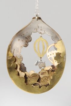 Anomali Jewellery, art jewelry pendant