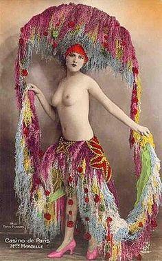 French postcard -