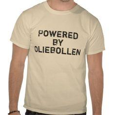 Powered by oliebollen tshirt