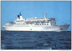 Ferries - BATEAUX - Paquebot ferry - LIBERTE
